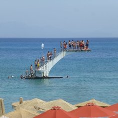 Dive Tower in Rhodes