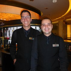 The great guys in the World Class Bar