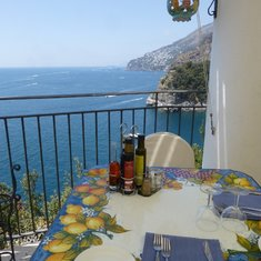 Lunch at Conca dei Marini