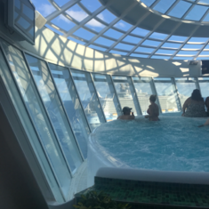Solarium on Allure of the Seas