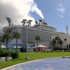 Oasis of the Seas Docked at Port Canaveral - Terminal 1