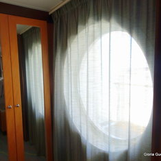 Circular Window in Suite