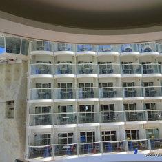 Rock Climbing Wall & Boardwalk Balcony Cabins