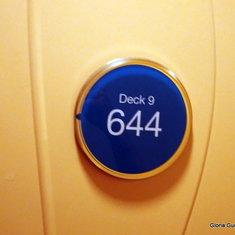 Cabin door 9644