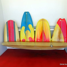 Colorful seating near Wipeout Cafe
