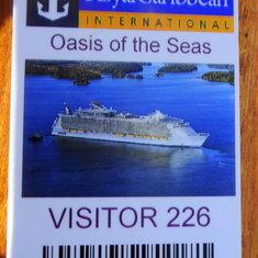 Boarding Card