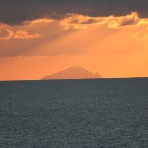 Sun setting on Antigua