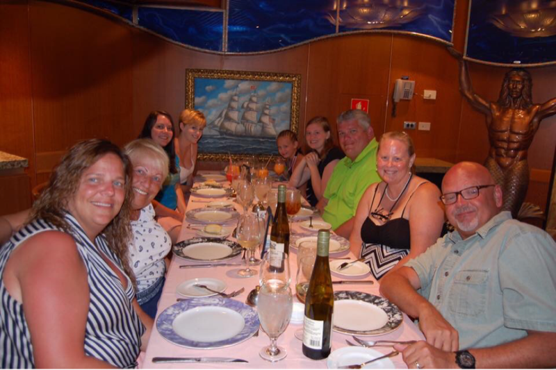 Kerry's Graduation - Carnival Victory
