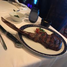 Cagney''s Steakhouse on Norwegian Breakaway