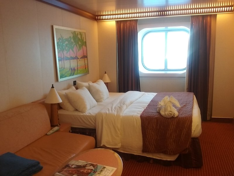 Oceanview Cabin 1352 On Carnival Dream Category 6y