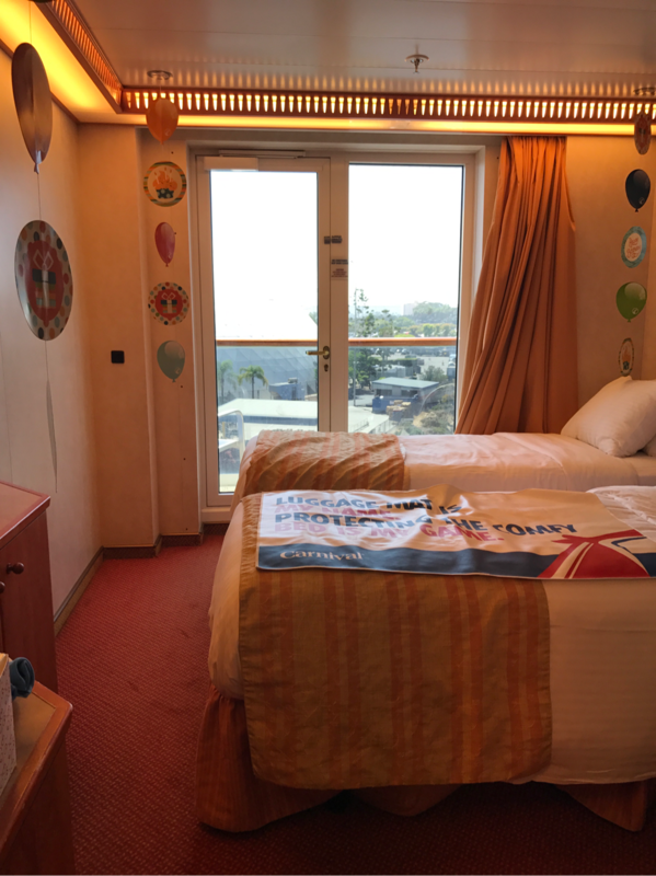 Balcony Cabin 5223 On Carnival Miracle Category 8c