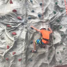 Climbing Wall on Norwegian Breakaway