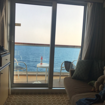Deluxe Balcony Stateroom on Royal Princess