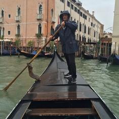 Un traghetto (shuttle gondola) Venice, Italy