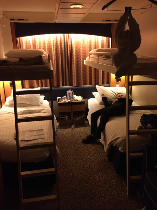Oceanview Cabin 3110 On Brilliance Of The Seas Category Sg