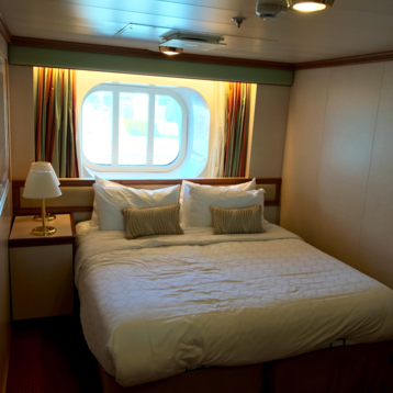 Oceanview Stateroom on Ruby Princess