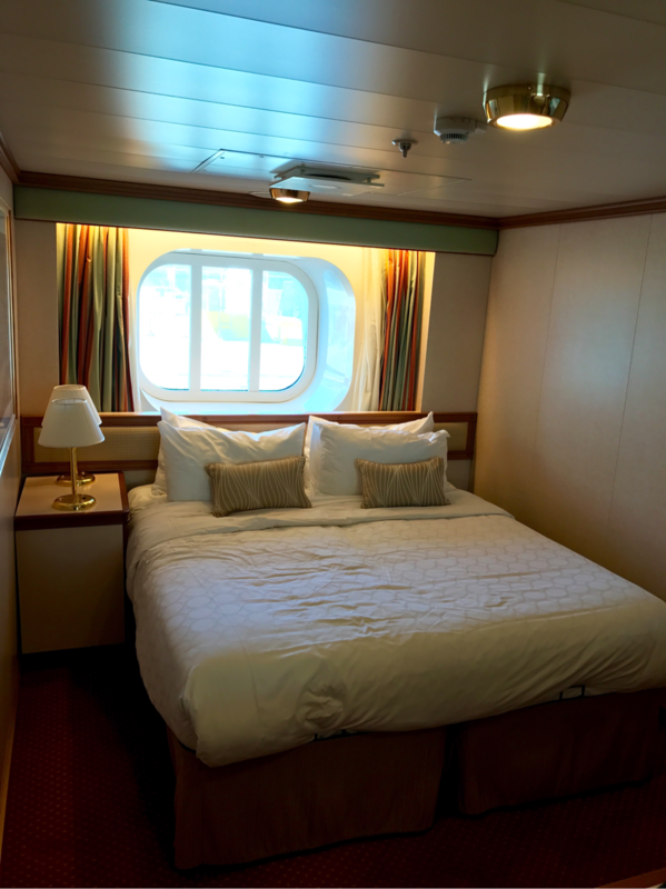 Oceanview Stateroom Cabin Category Of Ruby Princess