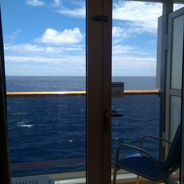 Private Balcony Stateroom on Carnival Spirit