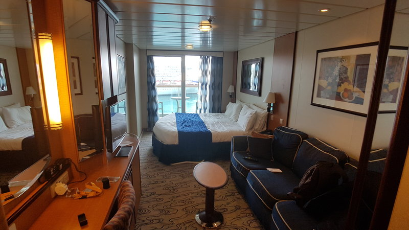 Balcony Cabin 9066 On Jewel Of The Seas Category 2b