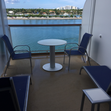 Mini-Suite with Large Balcony on Norwegian Escape
