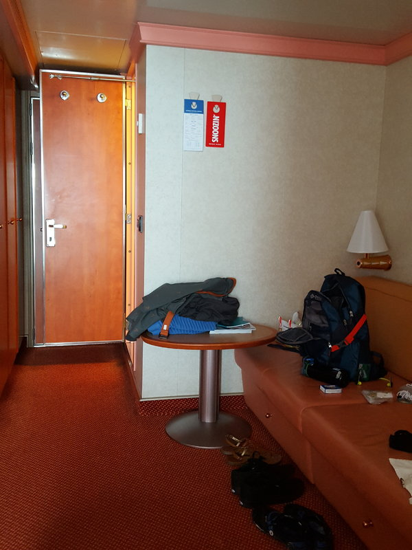 Balcony Cabin 6320 On Carnival Splendor, Category 8B
