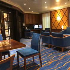 The Library and Bar on Carnival Sunshine
