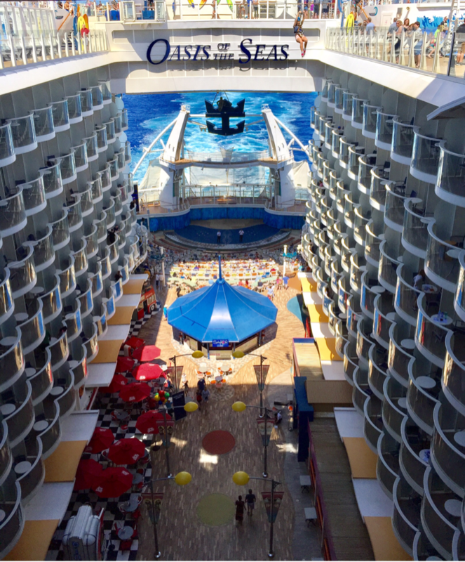 Oasis of the Seas, Royal Caribbean - August 13, 2017