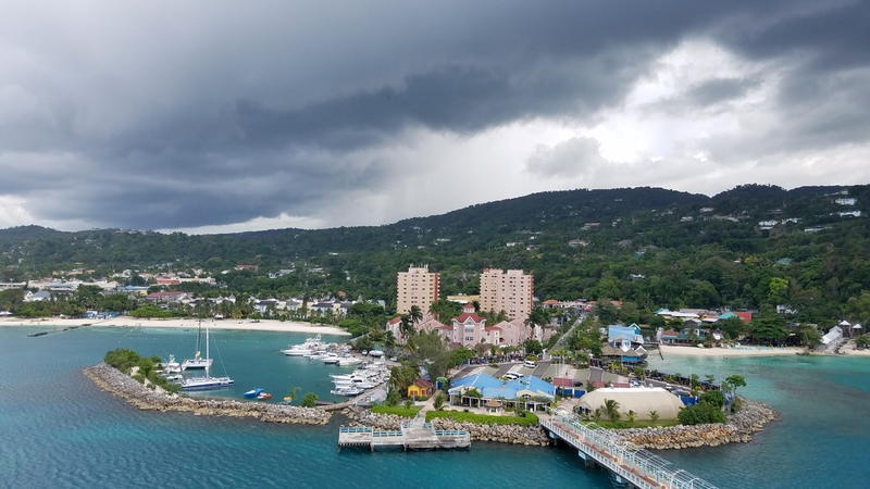 Ocho Rios, Jamaica - May 21, 2017