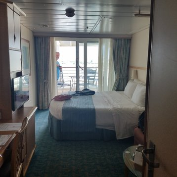 Deluxe Balcony Stateroom on Adventure of the Seas