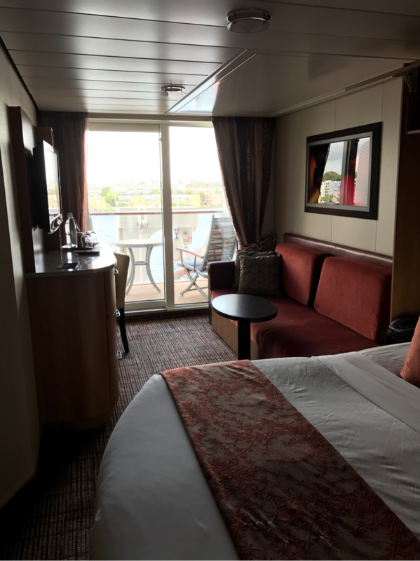 Celebrity Reflection Verandah Stateroom - Cruise Deck Plans