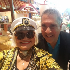 Ft. Lauderdale (Port Everglades), Florida - VALENTINA AVED WITH KEN RUSH