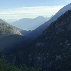 Just one of the amazing views from the White Pass railway ride!!