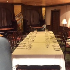 Chef's Table in Private Dining Room