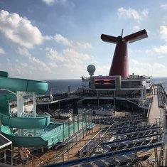 Carnival Victory at Sea