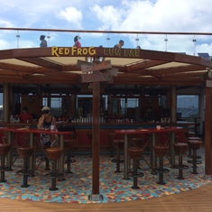 Red Frog Rum Bar - Carnival Sunshine
