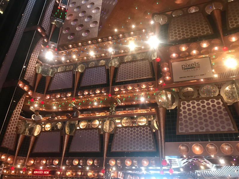 Lobby and Atrium - Carnival Splendor