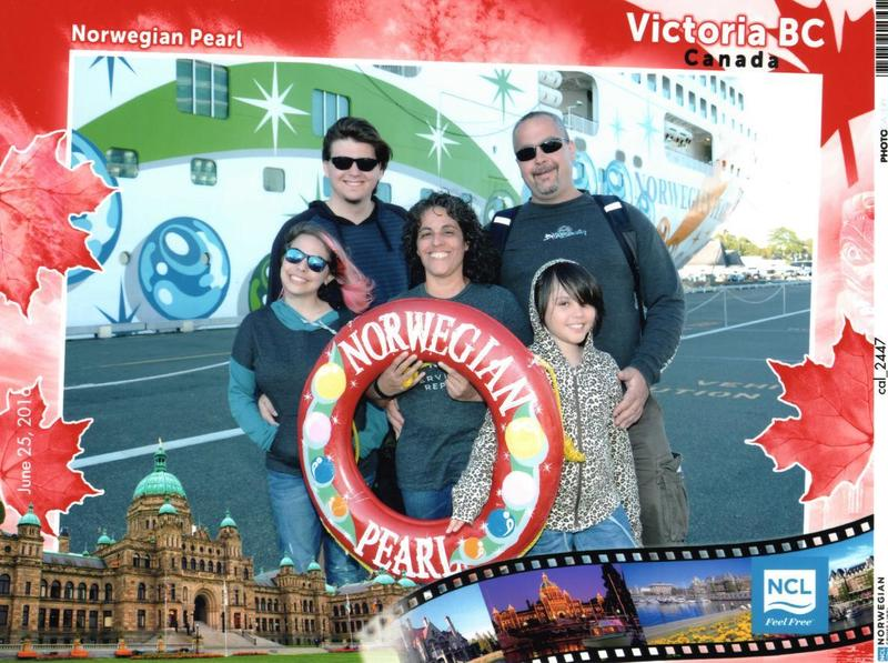 our cruise - Norwegian Pearl