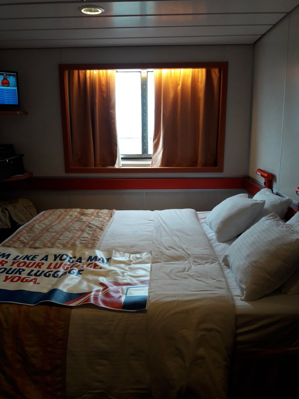 Oceanview Stateroom Cabin Category 6d Carnival Ecstasy
