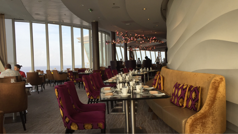 Coastal Kitchen and Suite Lounge - Harmony of the Seas