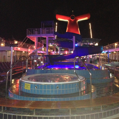 Picture Of Lido Deck Carnival Paradise