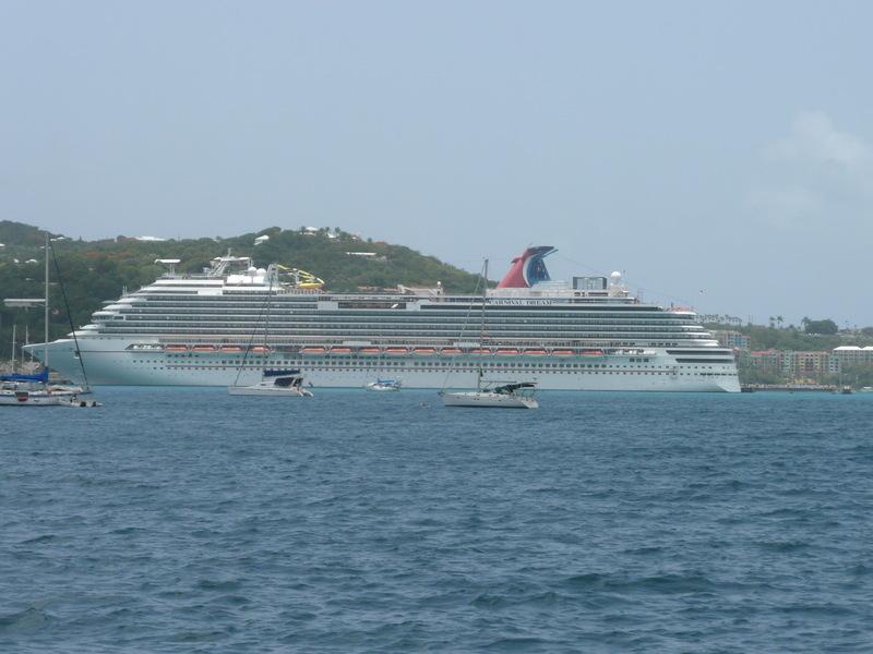 Ship in Port - Carnival Freedom