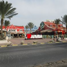 Oranjestad, Aruba - The sign says it all