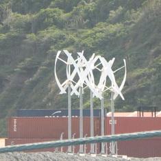 Windmills in port