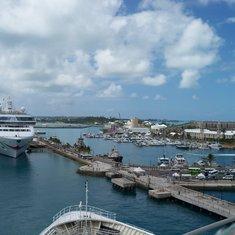 Landing at Bermuda