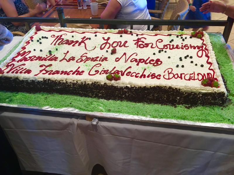 #thank u cake  - Freedom of the Seas