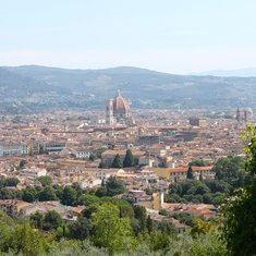 View of Florence.