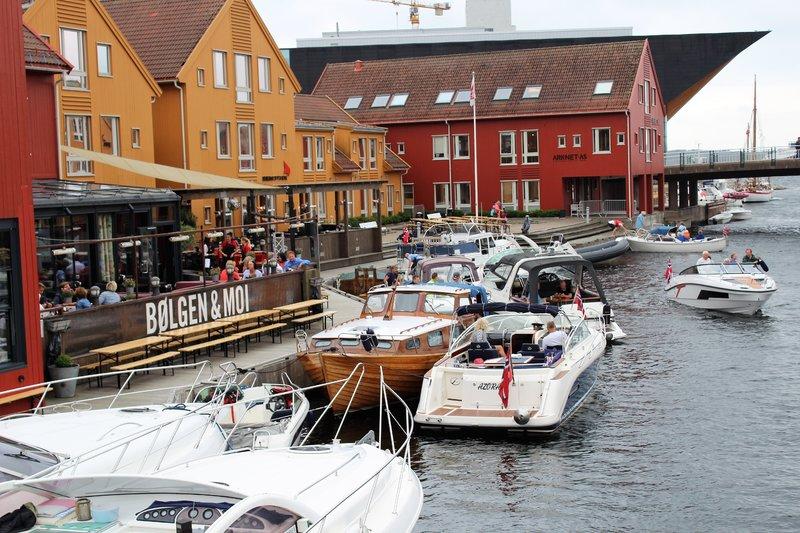 Kristiansund, Norway - Along the main quay