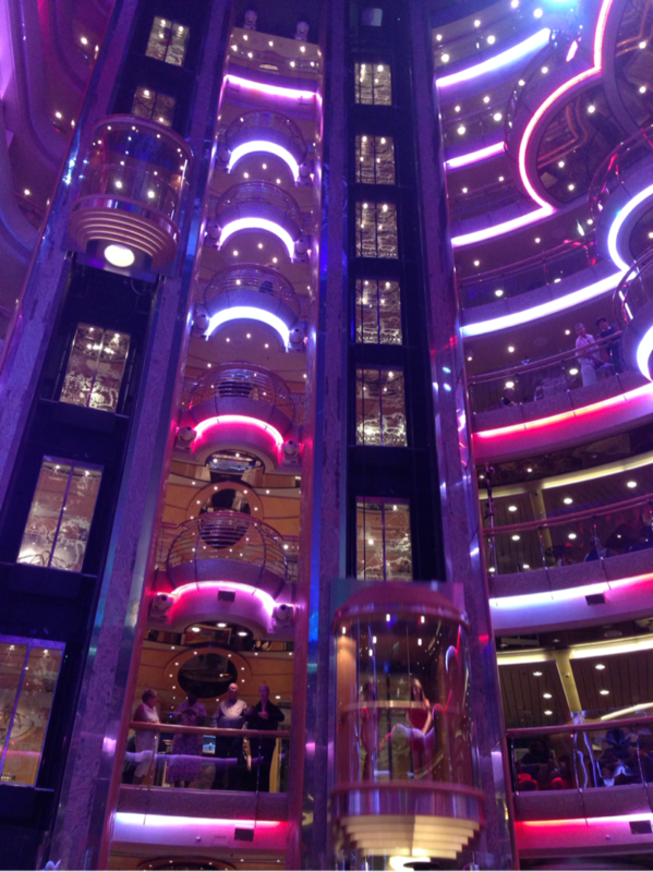 center of Ship - Brilliance of the Seas