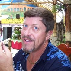 Fish taco in paradise