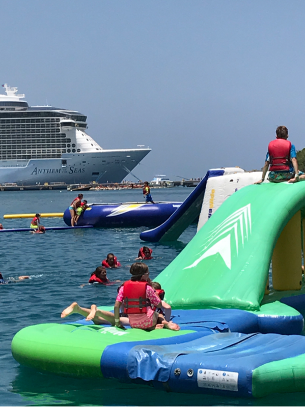 aqua zone Labadee Haiti  - Anthem of the Seas